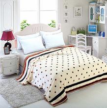 hot sale 100% polyester wholesaler fleece alpaca wool blankets