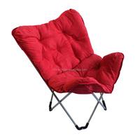 LG-BA-502 Yongkang LanGe Polyester fabric moon chair, sun chair,folding butterfly chairs,