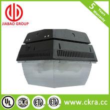 60w LED canopy lights for parking garages with DLC/ETL listed gas station light,garage lights
