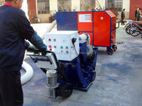 Evaluation of good clean concrete pavement road surface shot blasting machine