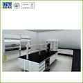 Todo marco de acero laboratorio dental banco de trabajo para laboratorio sala