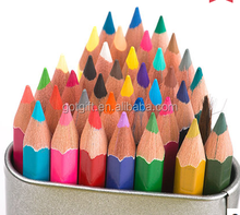 48 color Promotional fashion colorful drawing pencil