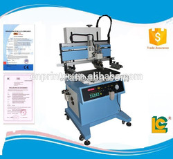 LC-700P High High quality Semi- automatic pneumatic flatbed screen printer with T-slot work table supplies for appliance