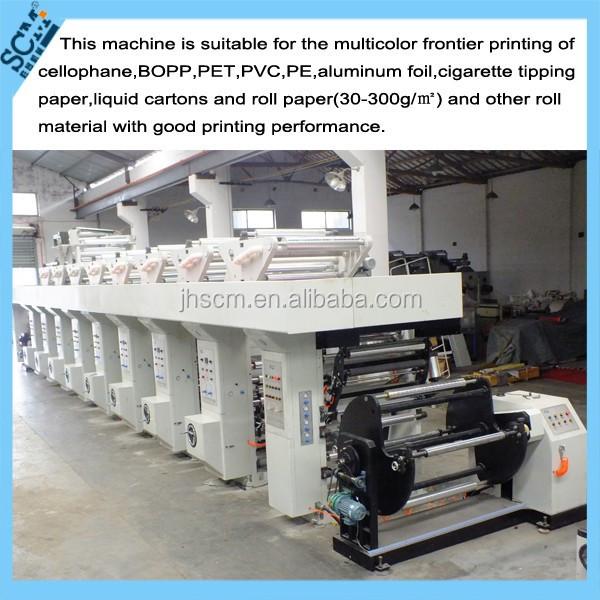 Scm Rotary Printing Machine