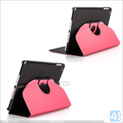 2015 Patent Design 360 Rotating Leather Case For iPad Air 2, for ipad stand case