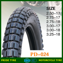 China motocycle tire manufacturer 275-17 275-18 motorcycle tires