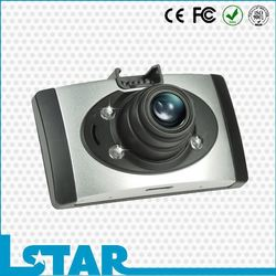 New 2.7inch LCD display mini best car dash cam with wide angle