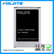 Mobile Battery B800BC/BU/BK/BE 3200Mah For Samsung Galaxy Note 3 Battery