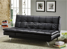 Genuine leather sofa bed 150 cm hardware,Relax new model sofa bed