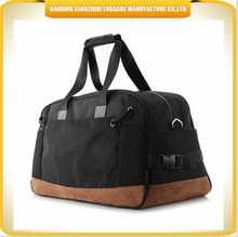 China wholesale weekend foldable travel bag sport gym duffle trolley bag