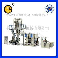 PE film machinery with plastic printing function