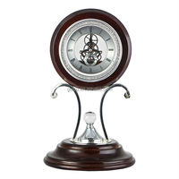 Antique Decorative Metal Table Time Clock JHF14-8073A