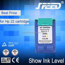 Wholesale Price Printer Ink Cartridge 21 22 for HP with Less 1% Defective Rate
