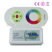 High Luminance rf wireless dimmer 12v 6A for rgb led light lamp with CE and ROHS rgb led strip controller wifi