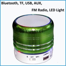 Kingwon Portable Mini Speaker Bluetooth 2015 hot sale wireless speaker can as dj music player suport USB/TF/MP3/MP4