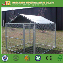 High quality Galvanized 2x2x1.8meter Chain link fence dog kennel