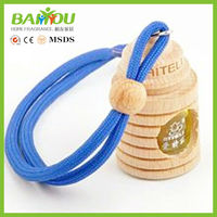 2015 new products 5ml wooden cap new car smell perfume