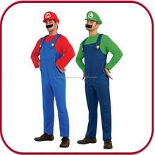 Pfhc-0102 barato venta al por mayor super mario traje para hombre