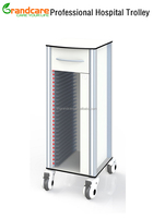 Patient Medical Record Trolley With 25 File Folders G-TN017