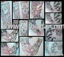 demons of hate dark images on tattoo design