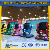 Popular Bumping Moving Robotic Amusement Equipment Car