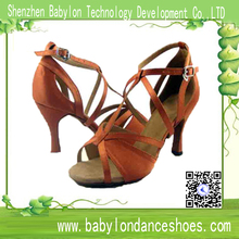 Hot-selling women Latin dance shoes international ballroom dance shoes athletic fitness soft sole low heel