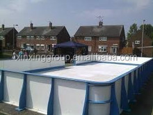 Roller skating rink barrier,UHMWPE synthetic ice panel,Artifical Ice roller Skating Rink barrier,Hockey Rink barrier