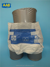 Cheap PE film disposable adult diaper