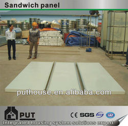 polyurethane sandwich panel for container house