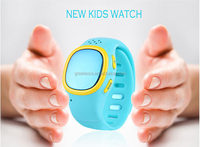 Mini kids smart watch gps positioning and monitoring smart watch for children