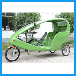 New advertising electric auto rickshaw