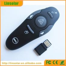 Wholesale ce rohs USB Wireless PowerPoint Presenter Laser Pointer Pen