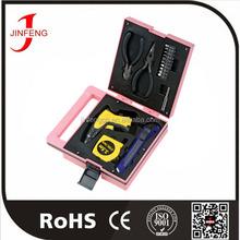 Hot selling best price China manufacturer oem pink promotion tool kit
