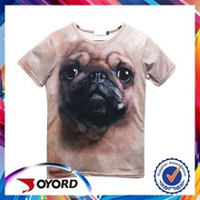 wholesale oem design 100% polyester sports sublimation printed sports t shirt