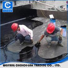 Non-curable rubber asphalt waterproof material waterproof coating