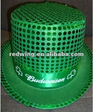 Shamrock Green Hat,St.Patricks Day Top Party Hat