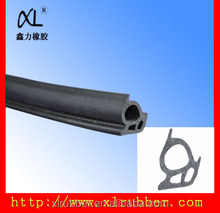 Rubber door seal gasket/neoprene sponge rubber door seal strip Factory