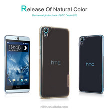 Nillkin brand ultra thin transparent tpu case for HTC Desire 826 case cover