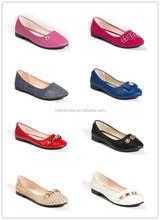 OEM women shoes canvas buckle shoes