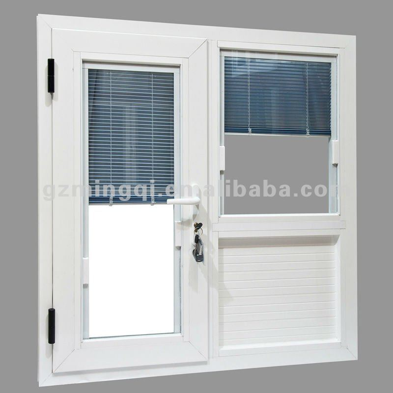 Aluminium sliding glass doors with built in blinds buy for Buy new construction windows online