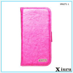 Mobile accessories flip pu wallet leather cell phone case,mobile phone cover for iphone 6