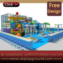 Ocean series durable and fashionable best-price adventure indoor children playground