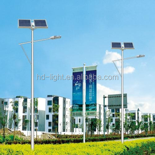 low price of 8m 100w led solar street light pole with solar led street