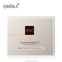 Makes skin long lasting nourishing and smooth QBEKA ferment polypeptide fading serum derma care facial kit brand name makeup kit
