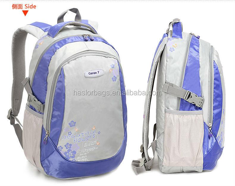 2015 nouveau design belle et belle école sac à dos pour filles