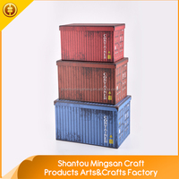 Multifunctional hard paper antique storage box big cube gift boxes