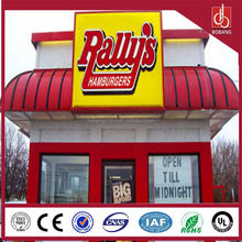 2015 new arrival building solid led signs