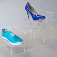New Products Fashion Modeling Acrylic Shoe Box Display Stand
