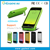 China Products 2200mah External Battery Case for iPhone 5 5s 5c
