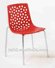 caliente de diseño de la moda moderna plasic nido de pájaro de la silla